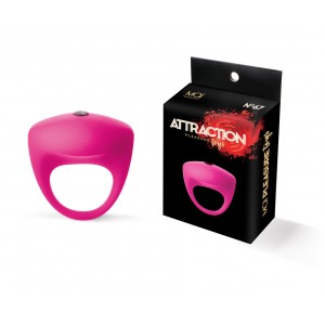 Vibrating ring silicone mai No. 67 pink
