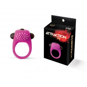 Vibration ring silicone mai No. 68 pink